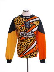 1995-96 Liverpool Goalkeeper Shirt L
