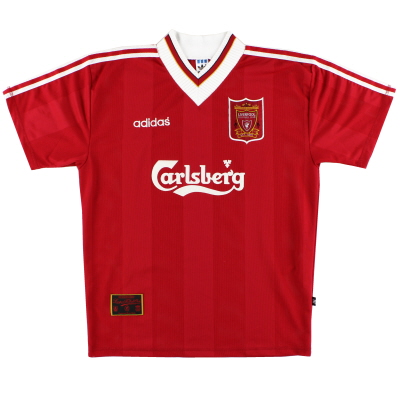 1995-96 Liverpool adidas Home Shirt S