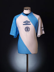 1995-96 Manchester City Umbro Player Issue Training Shirt XL