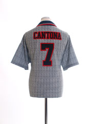1995-96 Manchester United Away Shirt Cantona #7 L