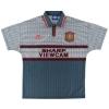 1995-96 Manchester United Away Shirt Beckham #24 L