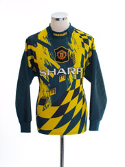1995-96 Manchester United Goalkeeper Shirt Y