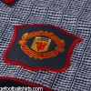 1995-96 Manchester United Grey Away Shirt *Mint* L