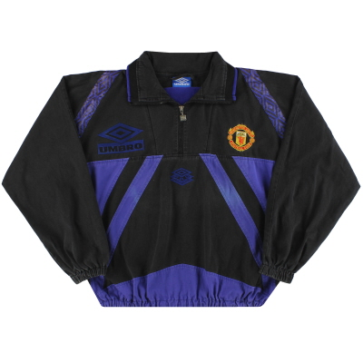 1995-96 Manchester United Umbro Drill Top L