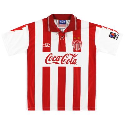 1995-96 Necaxa Umbro Home Shirt L