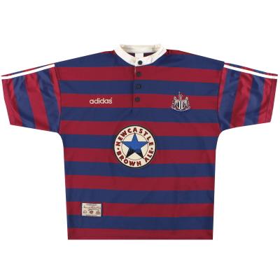 1995-96 Newcastle adidas Away Shirt L