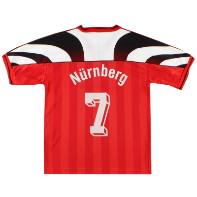 1995-96 Nurnberg Home Shirt #7 XS