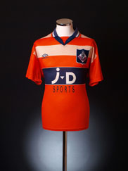 1995-96 Oldham Away Shirt XL