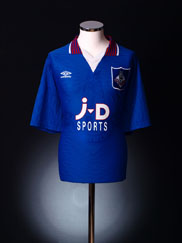 1995-96 Oldham Home Shirt XXL