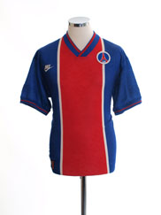 1995-96 Paris Saint-Germain Home Shirt M