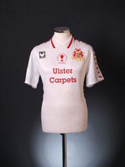 1995-96 Portadown Away Shirt *BNWT* M