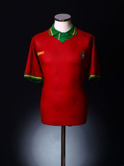 1995-96 Portugal Home Shirt *Mint* L