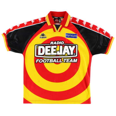 1995-96 Radio DeeJay Home Shirt M