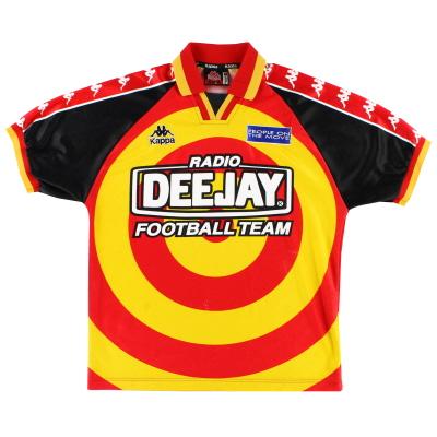1995-96 Radio DeeJay Home Shirt M