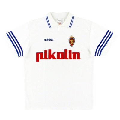 1995-96 Real Zaragoza Home Shirt *Mint* L