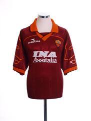 1995-96 Roma Home Shirt XXL