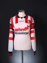 1995-96 SC Freiburg Away Shirt L/S L