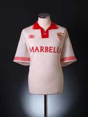 1995-96 Sevilla Home Shirt XL