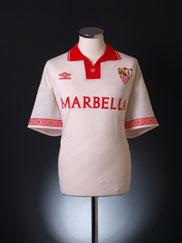1995-96 Sevilla Home Shirt XL
