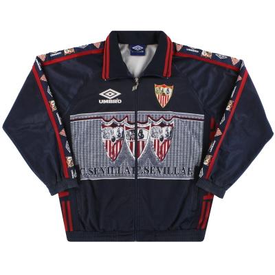 1995-96 Sevilla Umbro Track Jacket Y