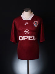 1995-96 Sparta Prague Home Shirt XXL