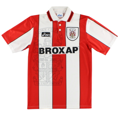 1995-96 Stoke City Home Shirt M