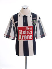 1995-96 Sturm Graz Home Shirt L
