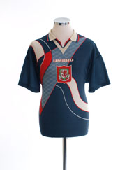 1995-96 Wales Away Shirt M