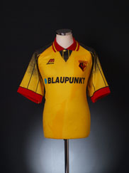 1995-96 Watford Home Shirt *Mint* M