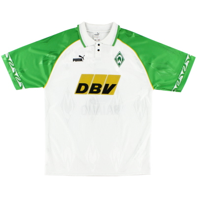 1995-96 Werder Bremen Home Shirt S