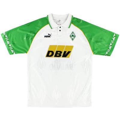 1995-96 Werder Bremen Puma Home Shirt S