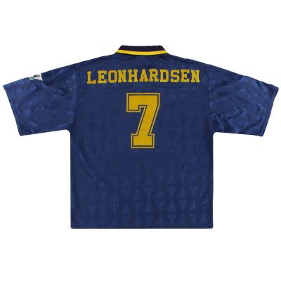 1995-96 Wimbledon Home Shirt Leonhardsen #7 L