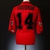 1995-96 Wimbledon Match Issue Third Shirt Goodman #14