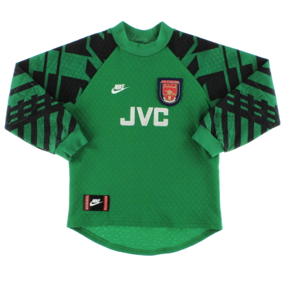 1995-97 Arsenal Goalkeeper Shirt M.Boys