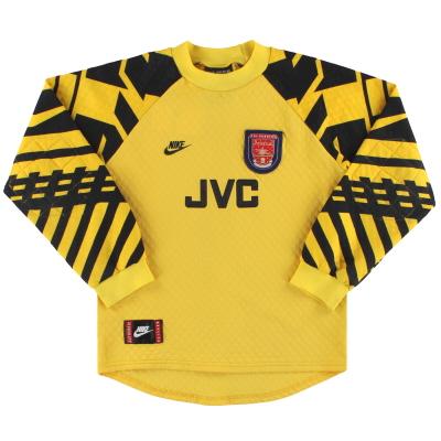 1995-97 Arsenal Nike Goalkeeper Shirt XL.Boys