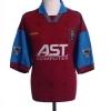 1995-97 Aston Villa Home Shirt Yorke #18 XL