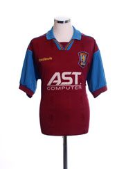 1995-97 Aston Villa Home Shirt S