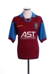 1995-97 Aston Villa Home Shirt M