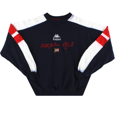 1995-97 Athletic Bilbao Kappa Sweatshirt S