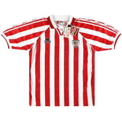 1995-97 Athletic Bilbao Kappa Home Shirt *w/tags* L