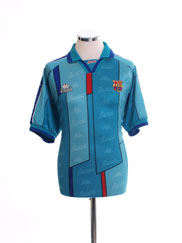 1995-97 Barcelona Away Shirt #9 XL