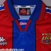1995-97 Barcelona Home Shirt L/S XL