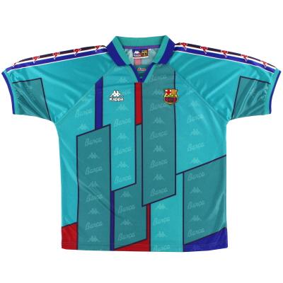 1995-97 Barcelona Kappa Away Shirt XL