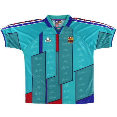 1995-97 Barcelona Kappa Away Shirt S