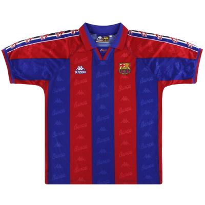 1995-97 Barcelona Kappa Home Shirt L