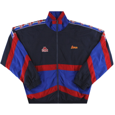 1995-97 Barcelona Kappa Track Jacket L