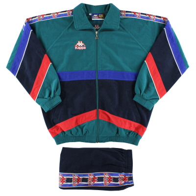 1995-97 Barcelona Kappa Tracksuit M