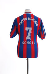 1995-97 Bayern Munich Home Shirt Scholl #7 M