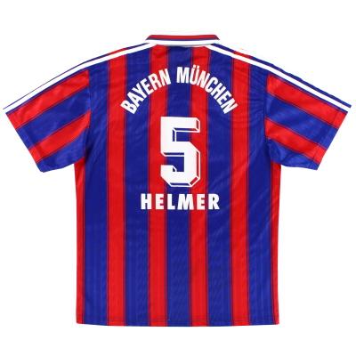 1995-97 Bayern Munich Home Shirt Helmer #5 L