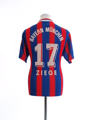 1995-97 Bayern Munich Home Shirt Ziege #17 M